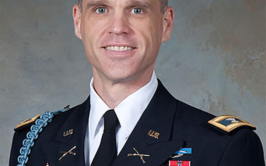 Army Col. Robert Menist