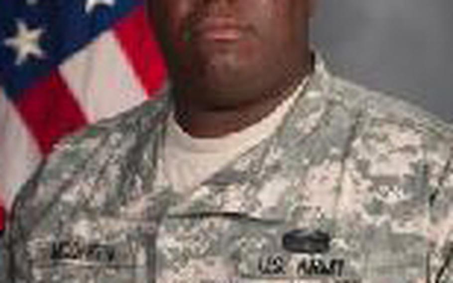 Sgt. 1st Class Gregory McQueen