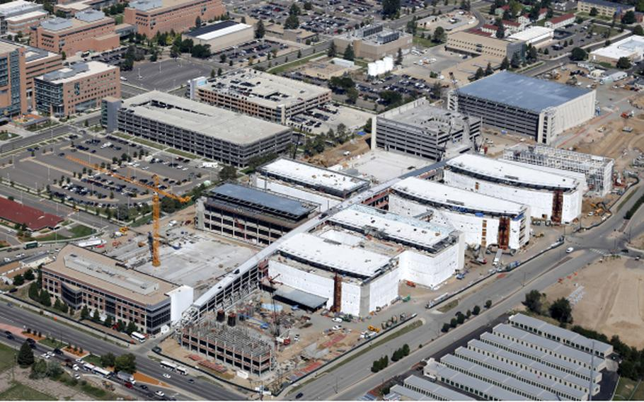Construction continues at the Replacement Medical Center at VA Eastern Colorado Health Care System, Denver, Colo.