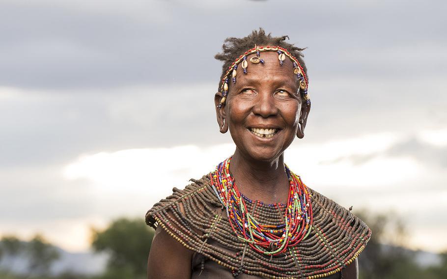 Joseph Makeni   Ko' Lobenya at the Pokot Village in Bogoria