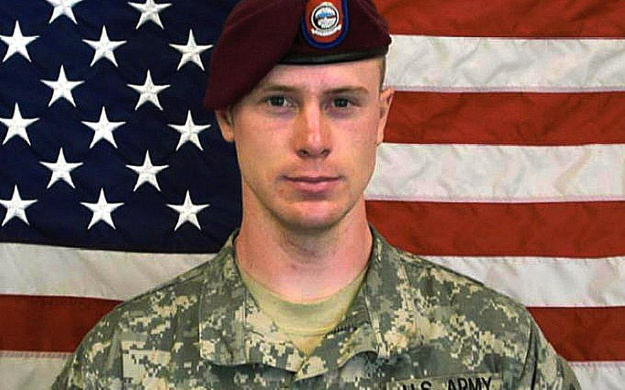 Accused Army deserter Sgt. Bowe Bergdahl is shown in this undated file photo.
