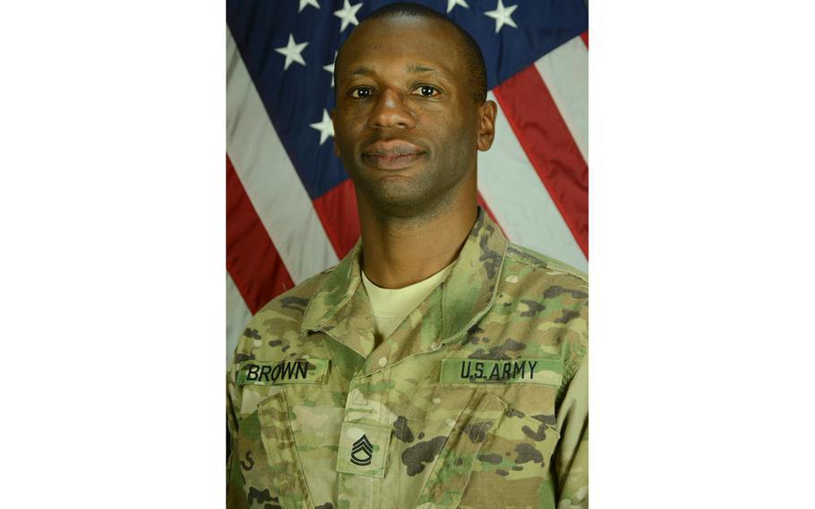 Sgt. 1st Class Allan E. Brown