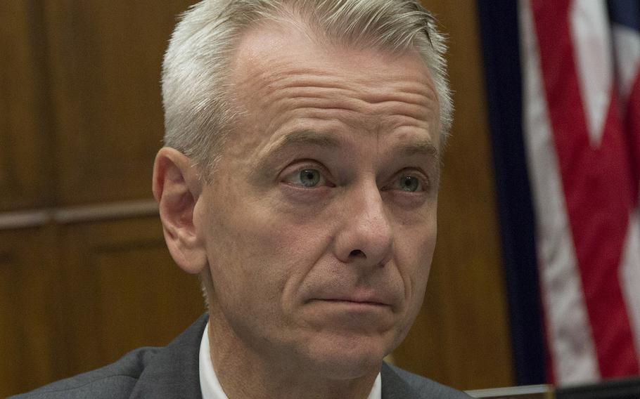 """Rep. Steve Russell, shown here in a 2015 file photo, has charged Democrats with a bias against the """"warrior class"""" in their efforts for rejection of  a special legal exemption for retired Gen. James Mattis to be defense secretary."""