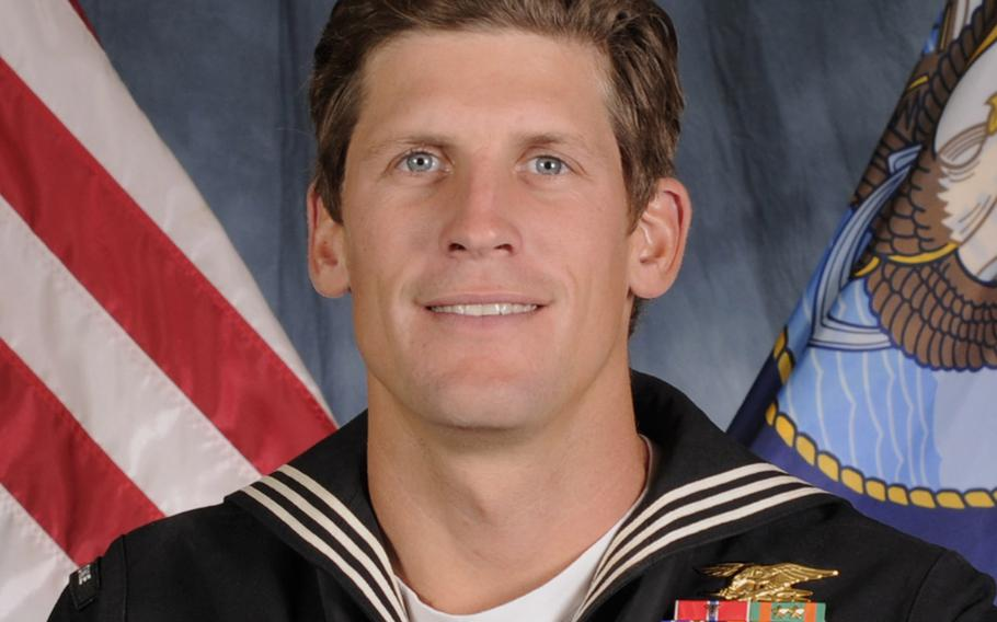 Among the medals announced on Jan. 13, 2017 was an upgrade from a Silver Star to Navy Cross for Navy SEAL Charles Keating IV, who died May 3 during a firefight in northern Iraq against the Islamic State group.