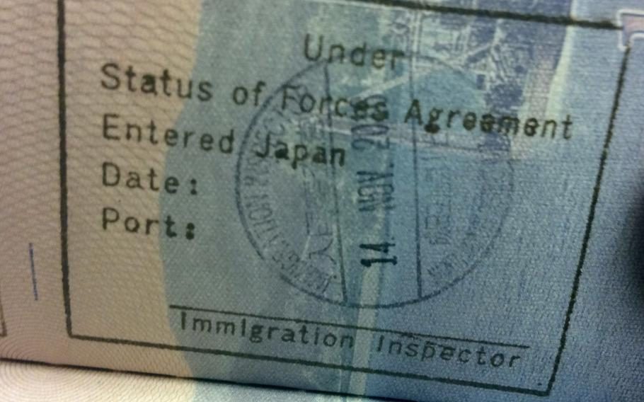 The United States and Japan signed a deal in Tokyo on Jan. 16, 2017, that will mean visa eligibility changes for some U.S. base contractors working in Japan.