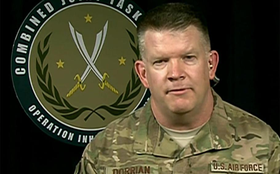 Operation Inherent Resolve coalition spokesman U.S. Air Force Col. John Dorrian.