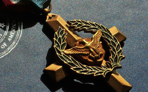 The Air Force Cross is second only to the Medal of.