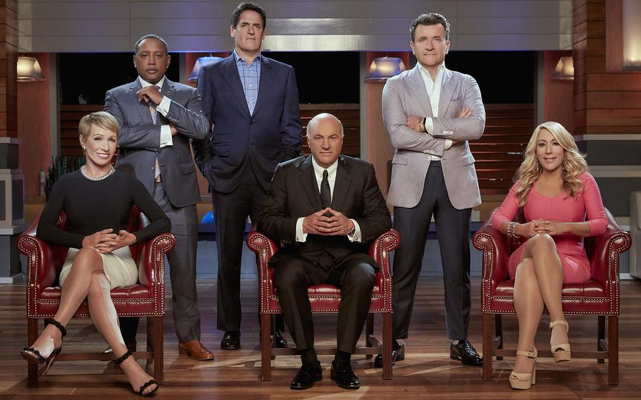 """Barbara Corcoran, Daymond John, Mark Cuban, Kevin O'Leary, Robert Herjavec  and Lori Greiner are the """"Sharks"""" on ABC's """"Shark Tank."""" The Department of Veterans Affairs is putting on a competition in a format similar to """"Shark Tank"""" to find solutions to priority issues."""