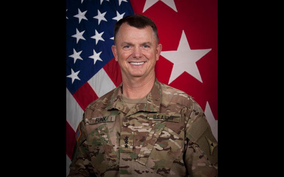 Army Lt. Gen. Paul Funk