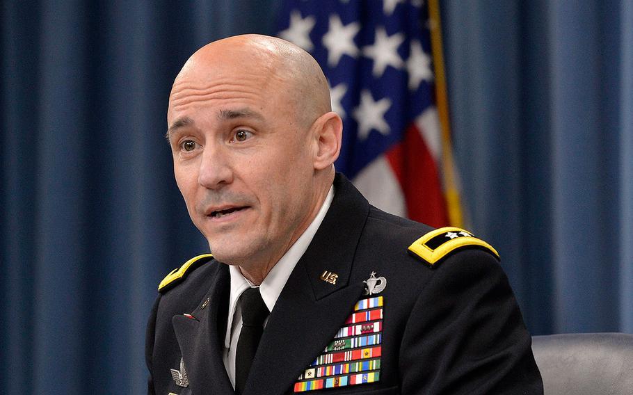 Maj. Gen. Thomas Horlander, the Army's budget director.
