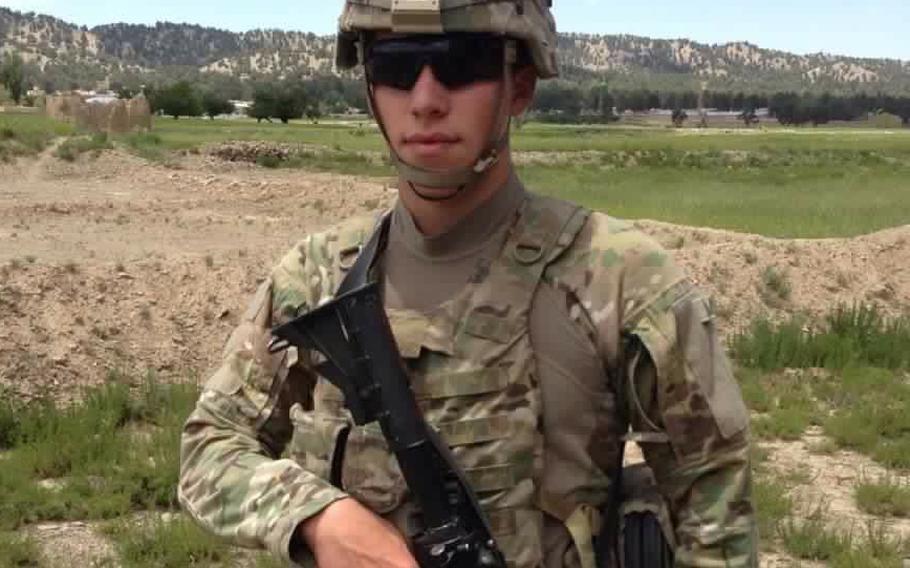 Tyler Kaden Croke stabbed to death in El Paso, Texas, on May 7, 2017.