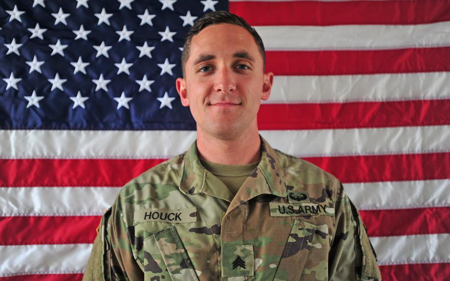 Sgt. Eric M. Houck was killed in a green-on-blue attack in Afghanistan on Saturday, June 10, 2017.