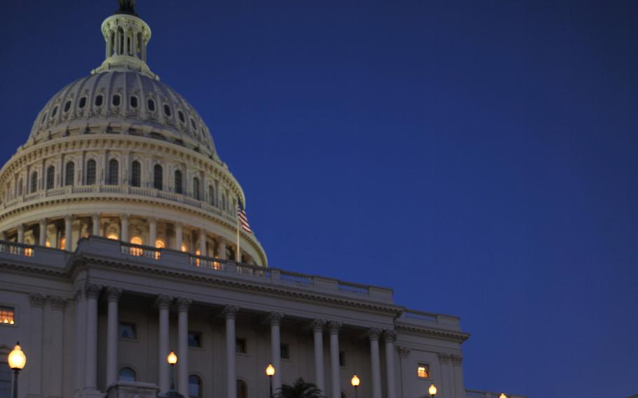 The U.S. Capitol in Washington, D.C., is seen on a June evening in 2010.