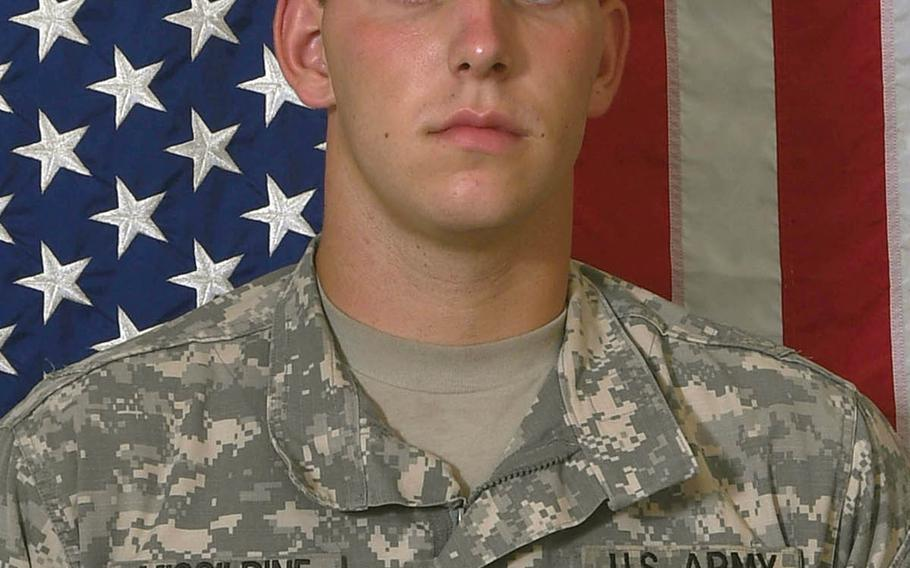 Army Spc. Alexander W. Missildine, assigned to the 710th Brigade Support Battalion, 3rd Brigade Combat Team, 10th Mountain Division from Fort Polk in La., was killed in Iraq on Sunday, Oct. 1, 2017.