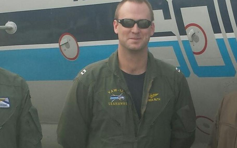 An undated file photo of Lt. Patrick L. Ruth, 31, of Metairie, La. Ruth was one of two pilots who were killed Oct. 1, 2017 when their T-45C aircraft crashed in Tellico Plains, Tenn.