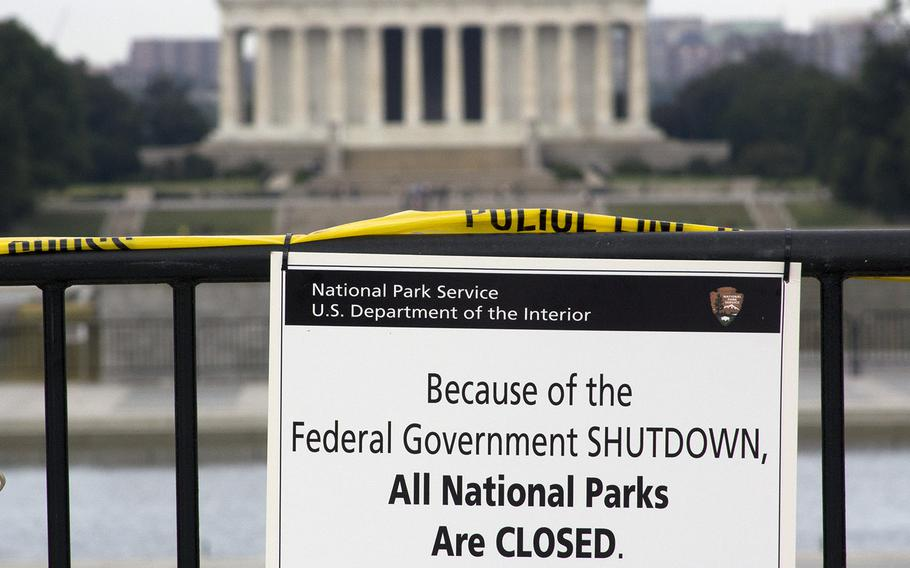 A government shutdown in 2013 resulted in the closing of such Washington, D.C. landmarks as the Lincoln Memorial and the National World War II Memorial.