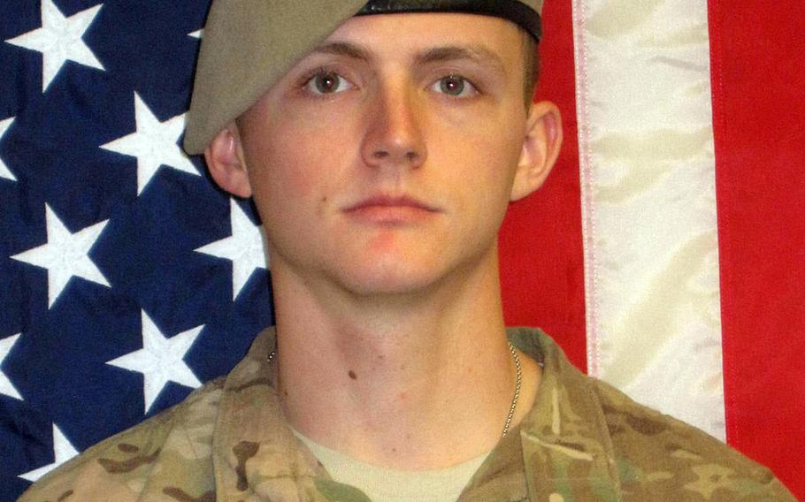 Sgt. Joshua P. Rodgers, 22, was killed April 27, 2017, in Nangahar province, Afghanistan.