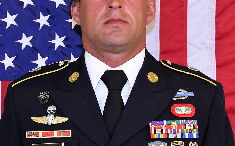 Sgt.1st Class Mihail Golin, 34, was killed in a New Year's Day firefight in eastern Afghanistan, the first U.S. combat fatality of 2018.