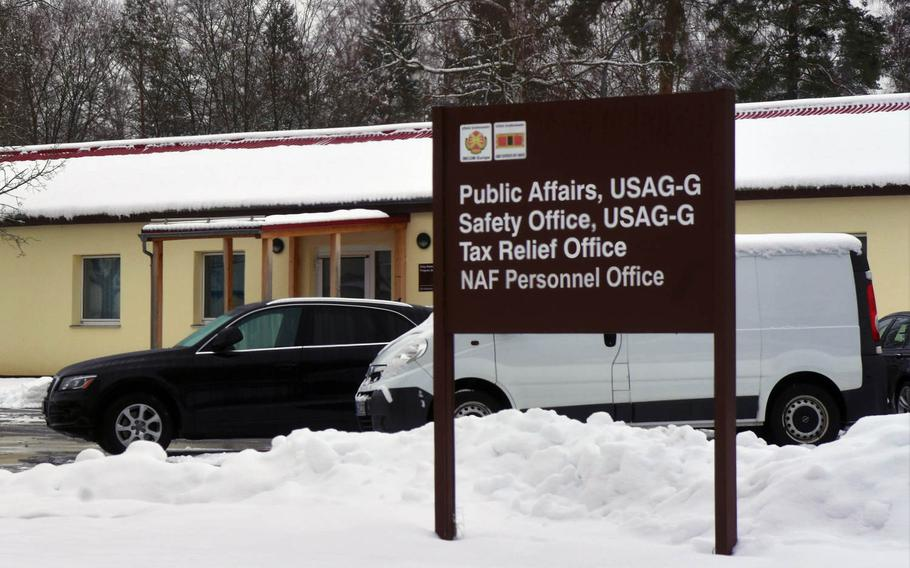 The Public Affairs Office at Grafenwoehr, Germany, was closed on Monday, Jan. 22, 2018, because of the U.S. government shutdown.