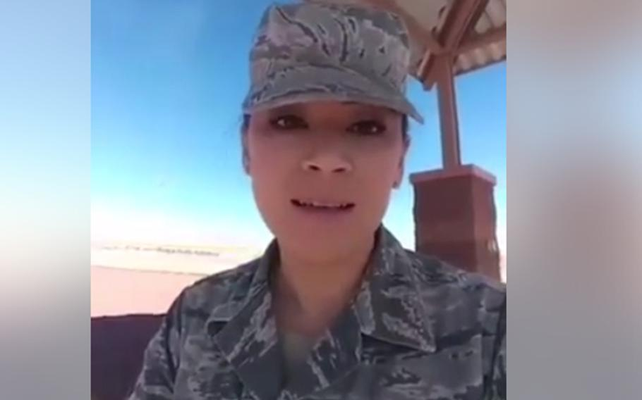 Tech. Sgt. Geraldine Lovely