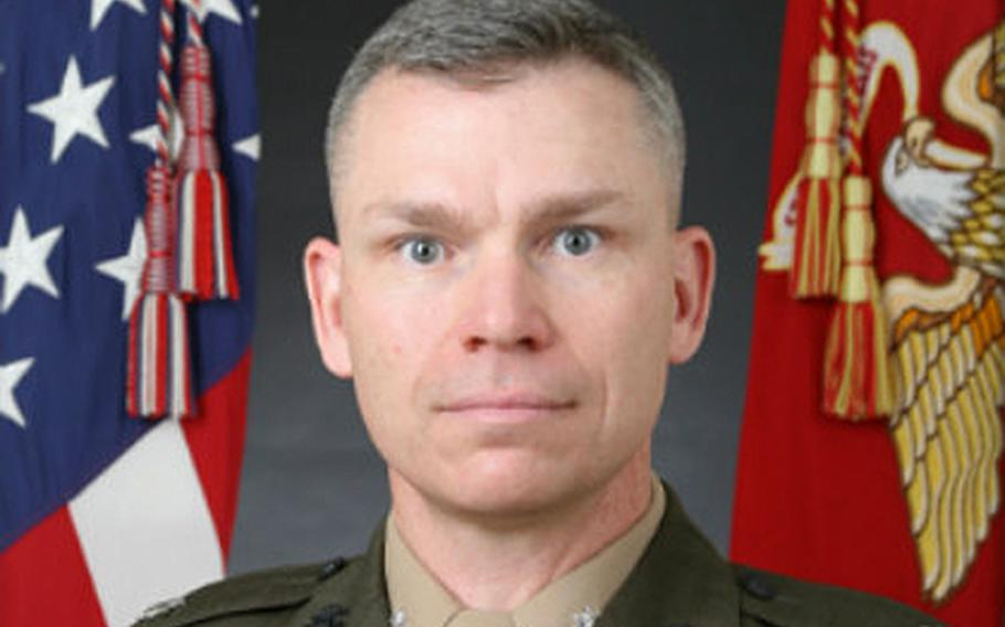 Marine Lt. Col. Bryan Swenson was removed from the helm of Marine Medium Tiltrotor Squadron 265.