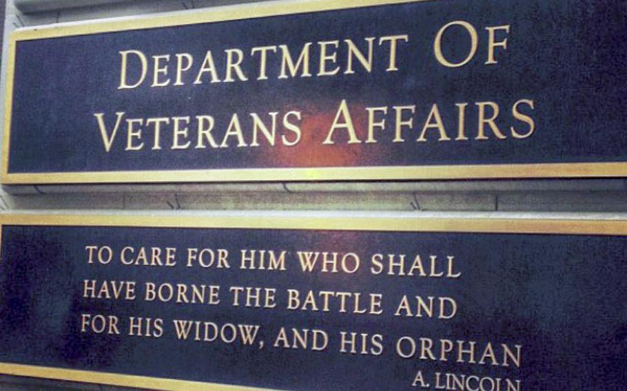 """The VA has had the same motto for 59 years. Iraq and Afghanistan Veterans of America called on VA Secretary David Shulkin in November to change the motto, describing it as sexist and outdated. The VA responded on Jan 26, 2018, that the motto was representative of """"the heart of our noble mission."""""""