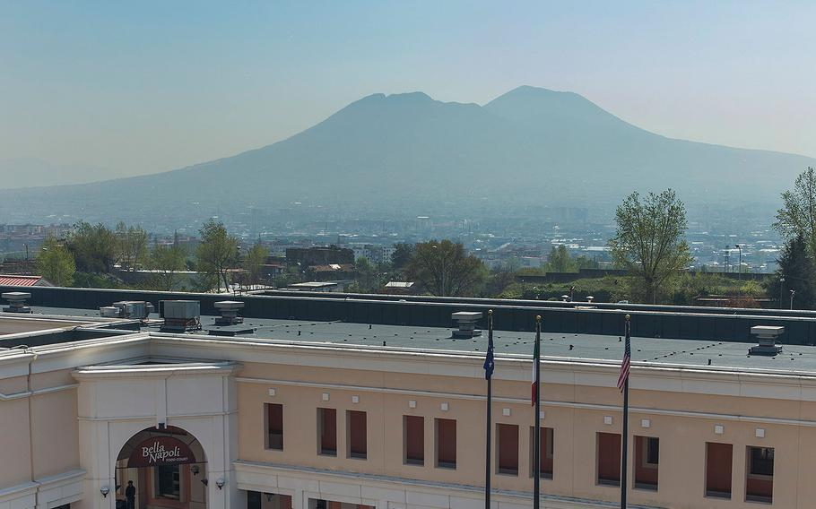 Naval Support Activity Naples in Capodichino, Italy.