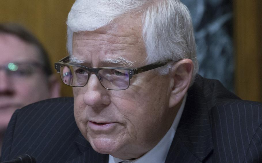 Former Senate Budget Committee Chairman Mike Enzi, R-Wyo., died Monday after suffering serious injuries in a bicycle accident near his home in Gillette, Wyo.