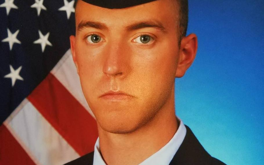 Airman 1st Class Bradley G. Hale, 20, was deployed to Guam from Barksdale Air Force Base, La.