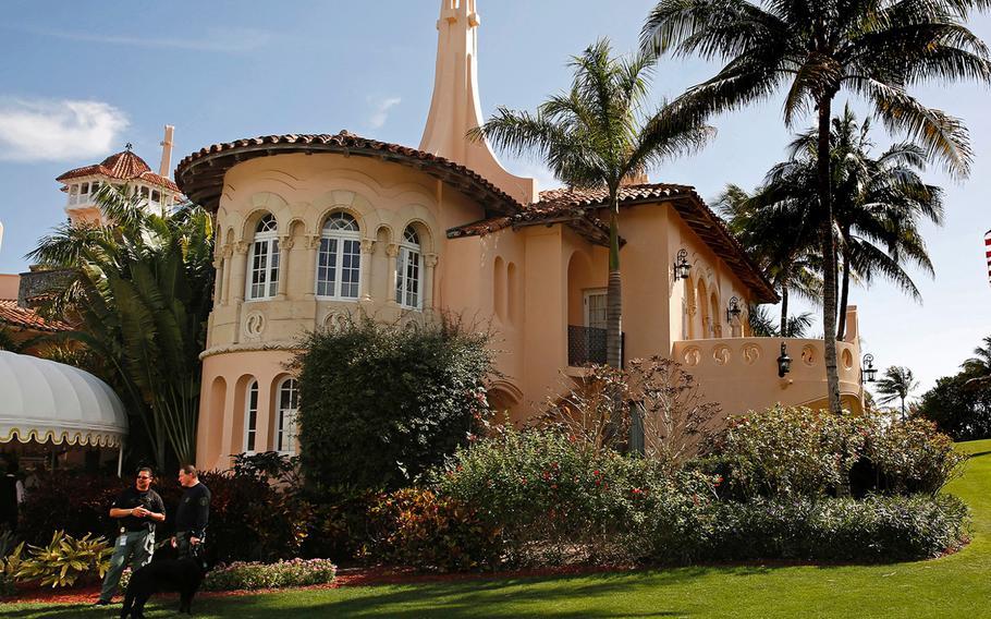 Republican presidential candidate Donald Trump owns Mar-a-Lago Club, a Trump resort in Palm Beach, Fla.