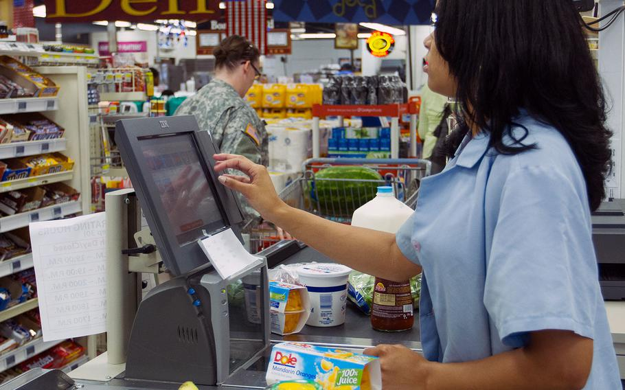 The commissary at Joint Base Anacostia-Bolling on July 2, 2013.