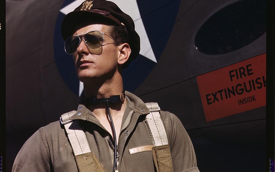 Test pilot F.W. Hunter