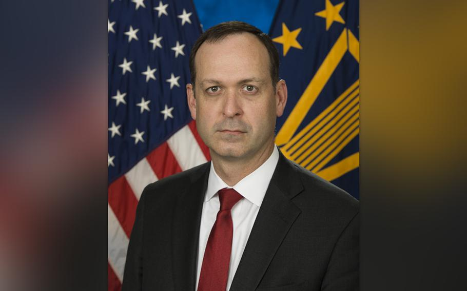 VA Chief of Staff Peter O'Rourke will be the new acting secretary of the Department of Veterans Affairs as current secretary Robert Wilkie steps aside during his confirmation process