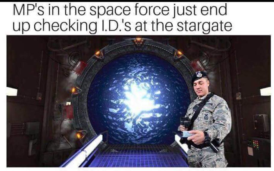 Space Force MP meme