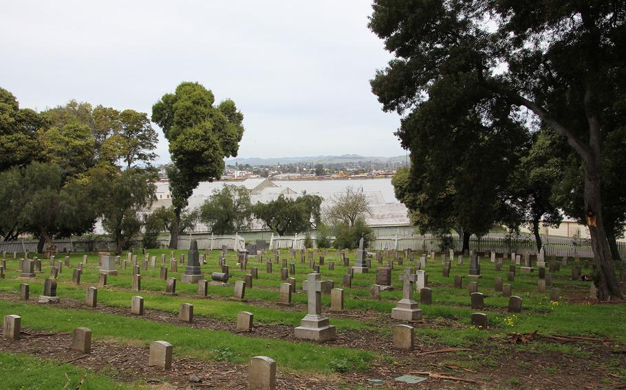 """Retired Navy Capt. Ralph Parrott stumbled upon the Mare Island Naval Cemetery during a visit to an old, nearby military base. """"It was a disgrace,"""" Parrott, 77, who lives in the northern Virginia, said of his March 2017 visit there. He's now made it his mission to bring the cemetery back to its former glory."""