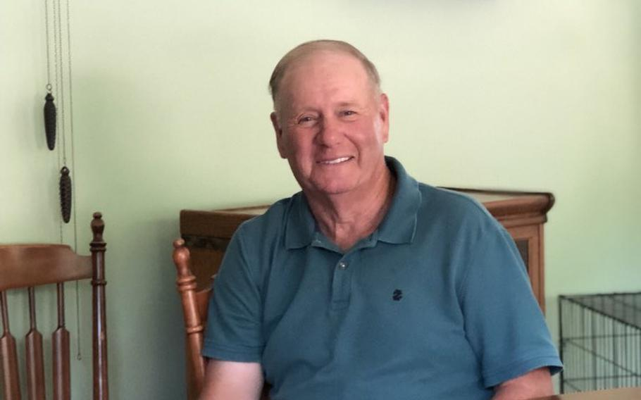 Bob Hart, 73, at a friend's house in South Jacksonville, Ill., on July 1. Hart, a Vietnam War veteran, uses the Choice program through the Department of Veterans Affairs to get treatment at his local hospital. He was stuck with a $30,000 medical bill because of delayed payments by the VA.