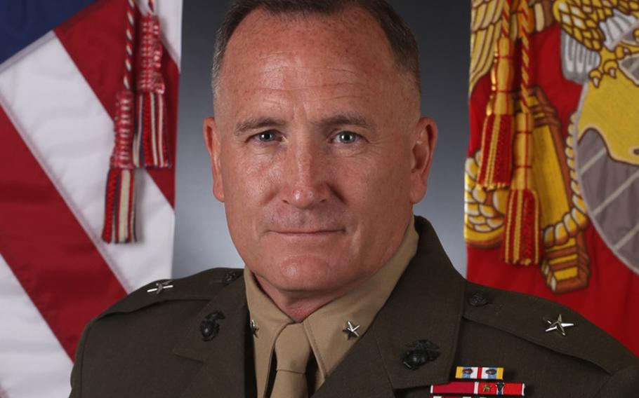 Brig. Gen. William Jurney took command of the 3rd Marine Division during a ceremony Friday at Camp Courtney, Okinawa.