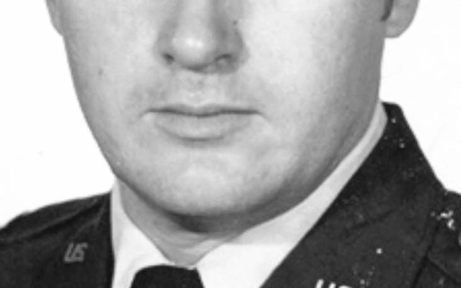 Don Jensen's official  Class A USAF photo, 1973.