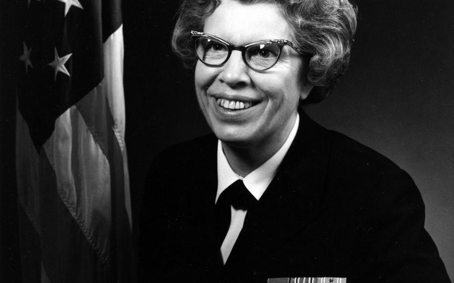 Retired Rear Adm. Alene Duerk, the first woman to rise to admiral in the U.S. Navy died Saturday, June 21, 2018. Duerk spent her career in the Navy's nursing corps, serving during three major wars and eventually rising to the Navy's top nurse position. She was 98 years old.