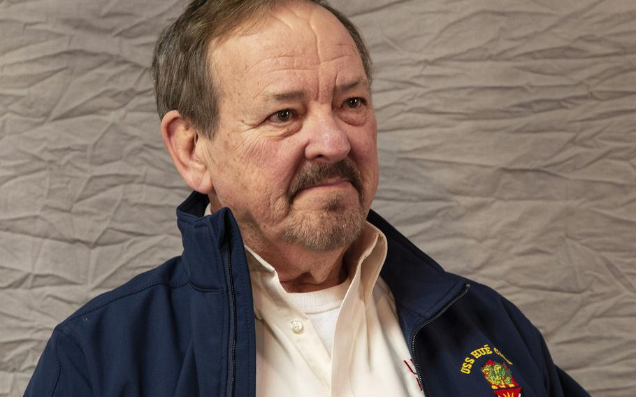 Vietnam veteran A.B. Grantham is interviewed at Stars and Stripes' office in Washington, D.C. in January, 2018.