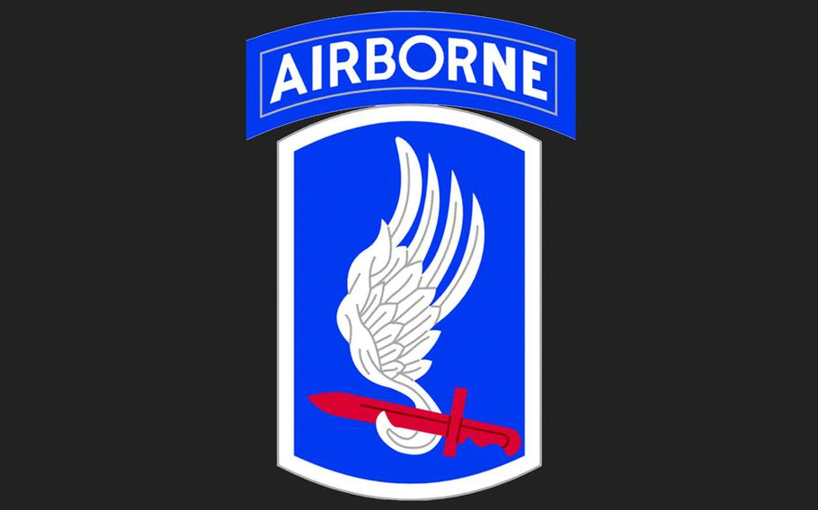 The logo of the 173rd Airborne Brigade