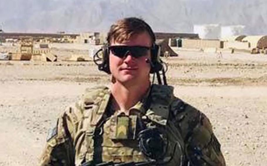 Army Staff Sgt. Bryan McQueen