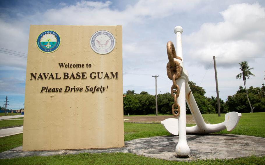 No injuries were reported among Guam's military community after Typhoon Mangkhut battered the islands Monday.