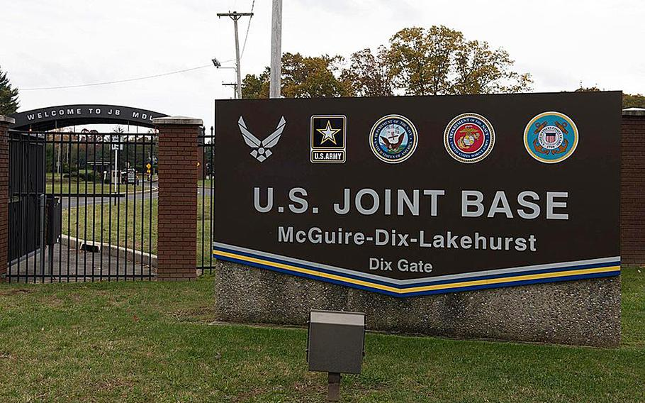 A private company that oversees property at Joint Base McGuire-Dix-Lakehurst, N.J., will pay more than $62,000 after unlawfully charging servicemembers for terminating their leases upon receiving orders to relocate, the Justice Department said.