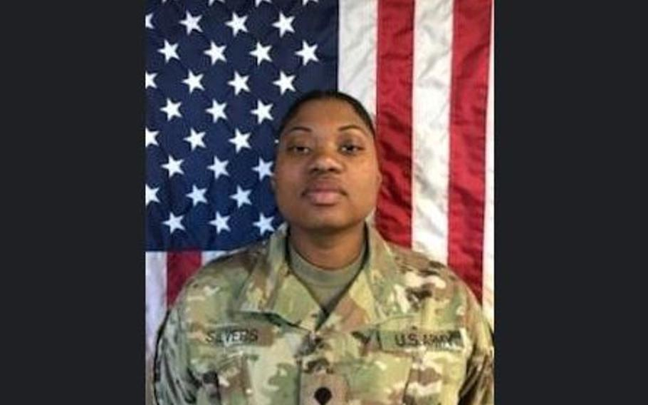 Sgt. Brittney Niecol Silvers, of Jacksonville, Fla.,  was an automated logistical specialist in the 101st Airborne Division's 101st Combat Aviation Brigade.
