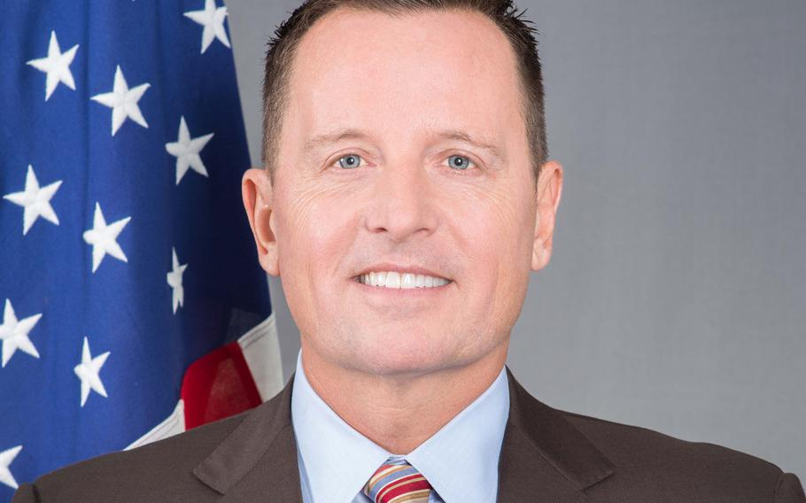 U.S. Ambassador to Germany Richard Grenell, who says he invites Marines based at the Berlin embassy to mingle with industry leaders at official events. Courtesy of U.S. Embassy in Germany
