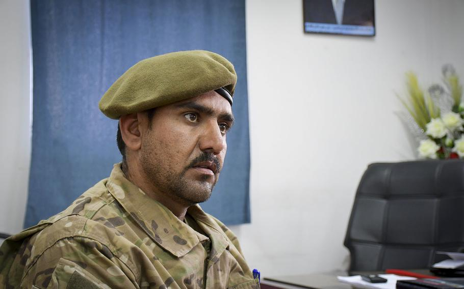 Afghan police Col. Habibullah Nazari, commander of the Herat-based Afghan Territorial Force, said the mission of his new elite police special forces unit is high-profile arrests, urban crisis response and counter-narcotics operations.
