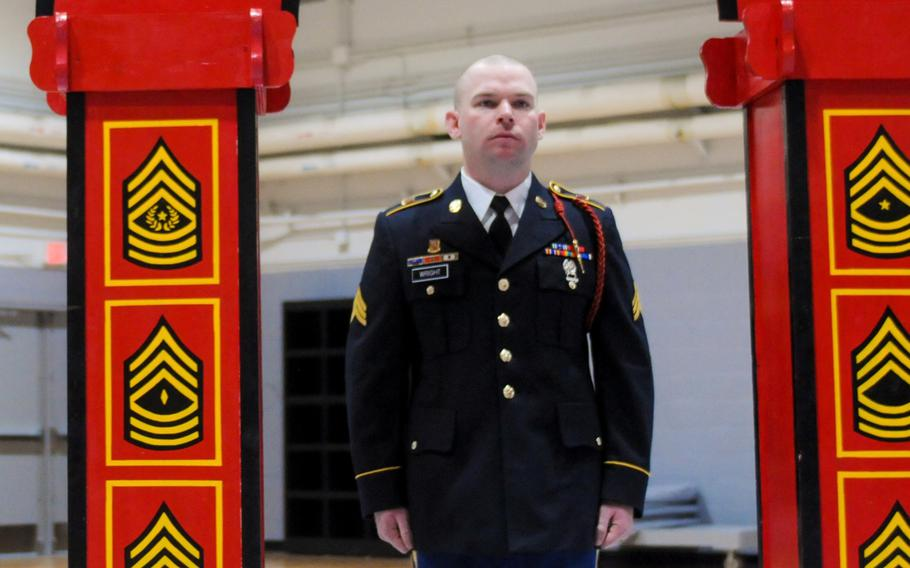 Sgt. Adam David Wright died on Camp Casey in South Korea.