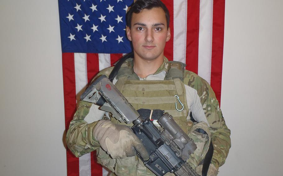 Sgt. Leandro A.S. Jasso, 25, from Leavenworth, Wash., died Nov. 24, 2018.