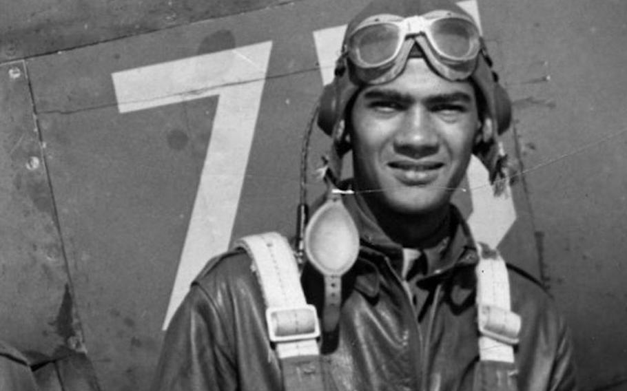 Army Air Forces Capt. Lawrence E. Dickson's PD-51D crashed near the border between Italy and Austria during World War II.